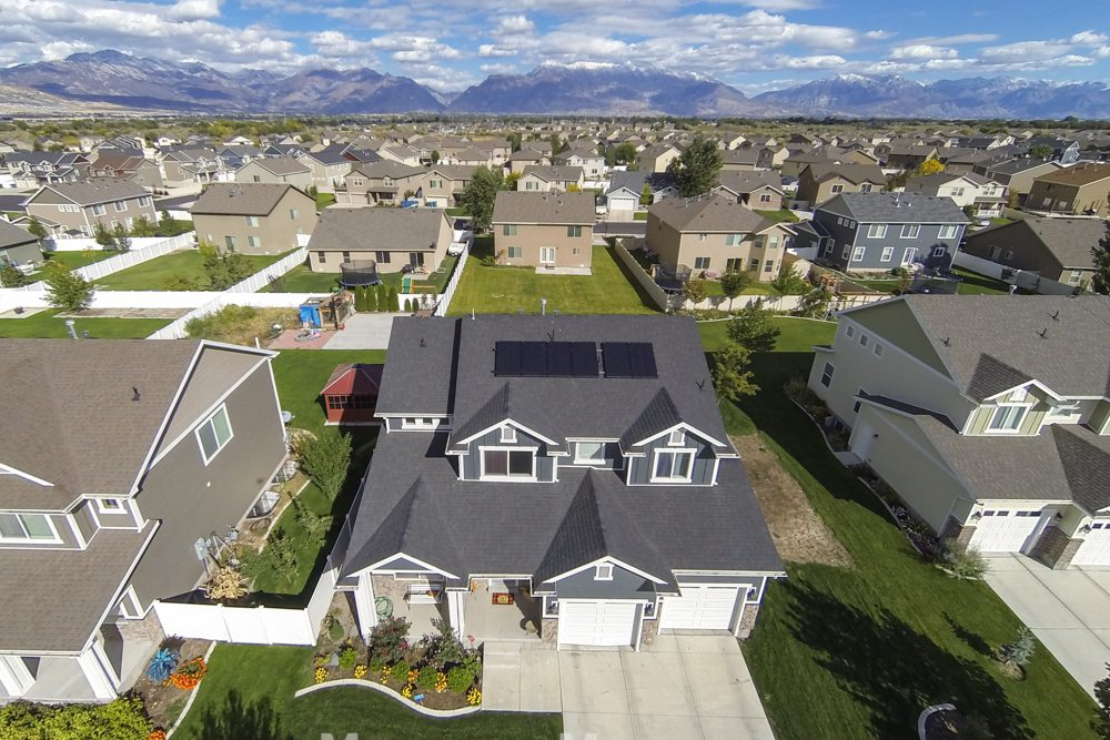 Utah Drone Real Estate Photography | Encore Solar Panel Installations